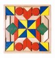 Barevná mozaika, 44 dílků