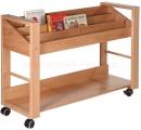 DE stolek na knihy