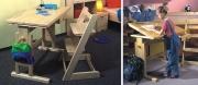Náklopný psací stůl BART