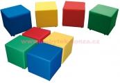 Polštářové kostky na kolečkách