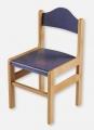 židle 1025/34 O+S modrá