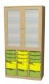 A525C skříňka s plastovými boxy
