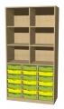 A575A skříňka s plastovými boxy