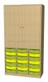A575B skříňka s plastovými boxy