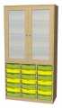 A575C skříňka s plastovými boxy