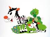 A64 dekorace zebra