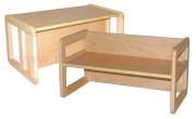 DE1534A víceúčelová lavice/stůl