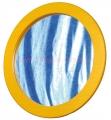 DE91056 Zrcadlo kruh v rámu (pr.50cm)