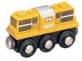Dieslová lokomotiva - žlutá