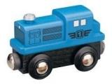 Dieslová lokomotiva - modrá