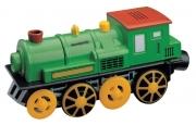 Elektrická lokomotiva - zelená