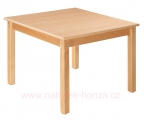 Stůl HONZÍK L čtverec 80x80cm