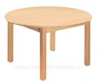 stůl HONZÍK L kruh průměr 90cm