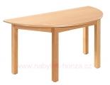 stůl HONZÍK L půlkruhový 120x60cm