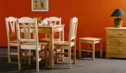Jídelní stůl - přírodní 78x78