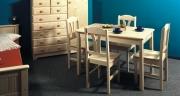 Jídelní stůl - přírodní 124x78