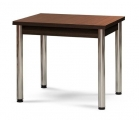 Jídelní stůl BINGO CHROM 90x68cm rozkládací