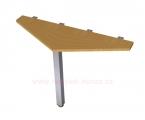 MS-20 stůl 120x75x40cm jednací
