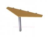 MS-21 stůl 140x75x40cm jednací