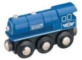 Parní lokomotiva - modrá