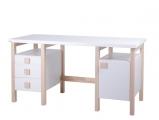 Psací stůl HENRY II. NEW bílý