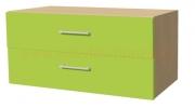 RC1 skříňka 2 zásuvková