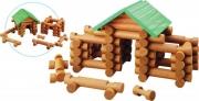 Srubová stavebnice - 77 dílů