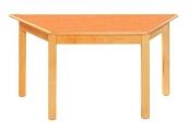 Stůl HONZÍK L+PVC lichoběžníkový 120x60x60x60cm