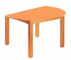 Stůl HONZÍK L+PVC s úkosem průměr 120cm
