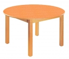 Stůl HONZÍK L+PVC kruh průměr 90cm