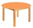 Stůl HONZÍK L+PVC kruh průměr 100cm