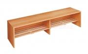 Šatní lavička, laťový rošt
