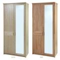 Šatní skříň - ENNA 2-dílná zrcadlo