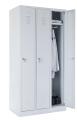 školní šatní skříň SZ-0023 (3D) třídvéřová