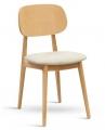 Židle BUNNY buk masiv sedák látka
