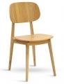 Židle BUNNY dub masiv