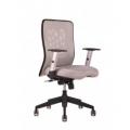 židle CALYPSO světle šedá