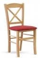 Židle CLAYTON dub masiv sedák látka