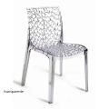 židle GRUVYER transparent
