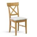 Židle OAK dub masiv sedák látka