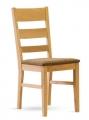 Židle PAUL dub sedák látka