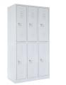 školní šatní skříň SZ-0022 (6D) šestidvéřová