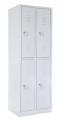 školní šatní skříň SZ-0022/4 (4D) čtyřdvéřová