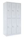 školní šatní skříň SZ-0022/4 (6D) šestidvéřová