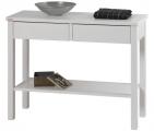 konzolový stolek SVENG bílý