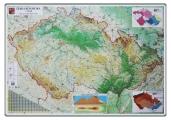 mapa ČR zeměpisná