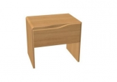 noční stolek ELEN jednozásuvkový - masiv