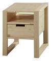 noční stolek RHINO - přírodní