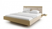 postel AMANTA s nočními poličkami 160x200 dub