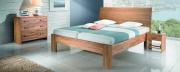 postel CALINDA 160x200 dub divoký